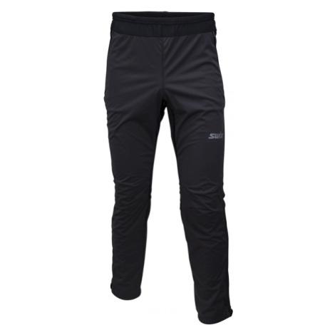 Swix CROSS černá - Pánské softshellové kalhoty