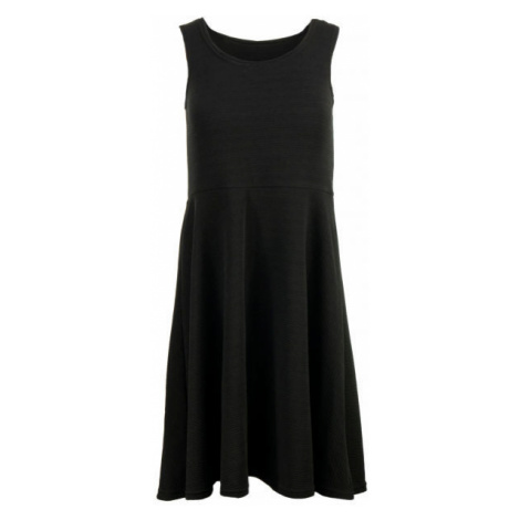 ALPINE PRO CALLIASA černá - Dámské šaty