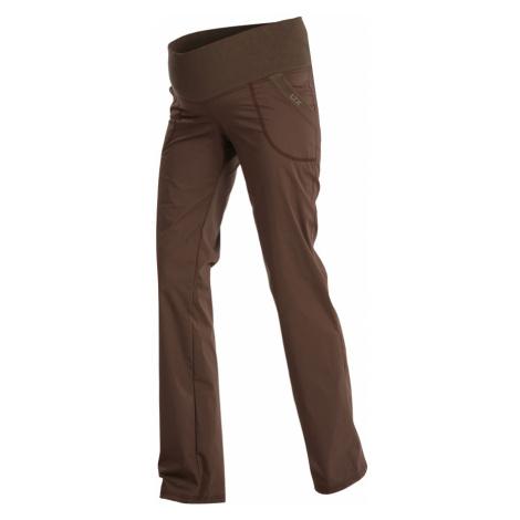 LITEX Kalhoty těhotenské dlouhé 99526414 hnědá