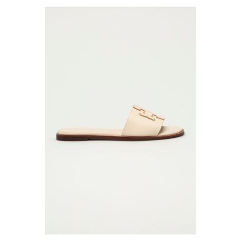 Tory Burch - Kožené pantofle