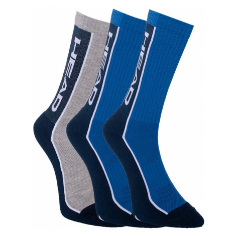 3PACK ponožky HEAD vícebarevné (791011001 001) L