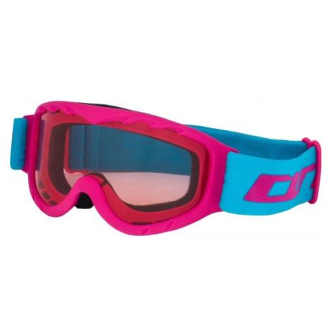 Arcore JUNO růžová - Juniorské lyžařské brýle