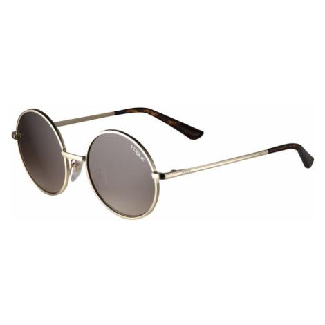 VOGUE Eyewear Sluneční brýle hnědá / zlatá