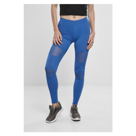 Urban Classics Ladies Tech Mesh Leggings sporty blue