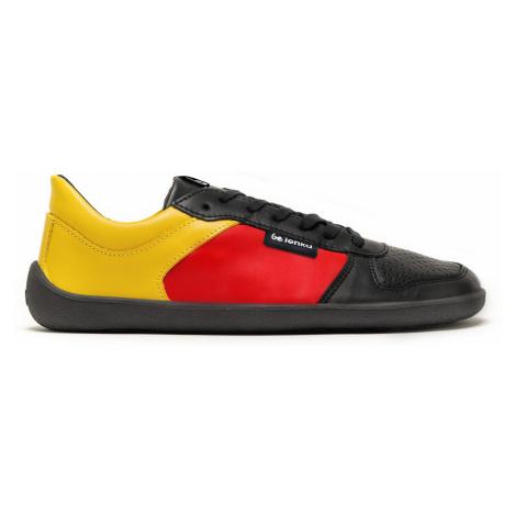 Barefoot tenisky Be Lenka Champ - Patriot - Black, Red & Gold 47