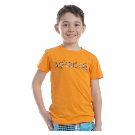 Dětské tričko Alpine Pro CONSALVO - oranžová