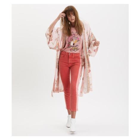 Kimono Odd Molly Paradise Groove Jacket - Růžová