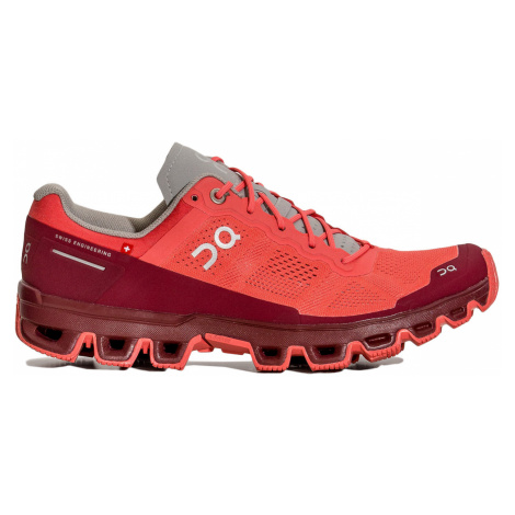 Běžecké boty On Running CLOUDVENTURE WOMAN červená