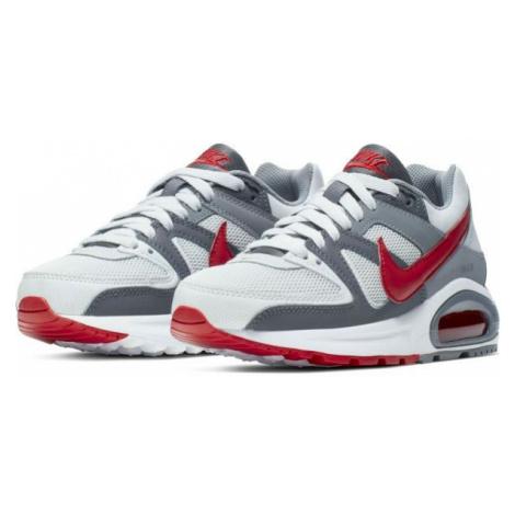 Nike AIR MAX COMMAND FLEX GS bílá - Chlapecká volnočasová obuv