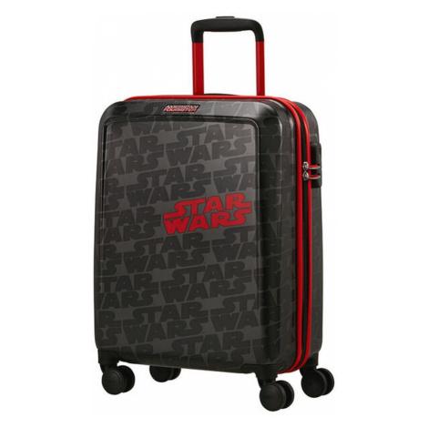 American Tourister Kabinový cestovní kufr Funlight Disney Star Wars Logo 36 l - šedá