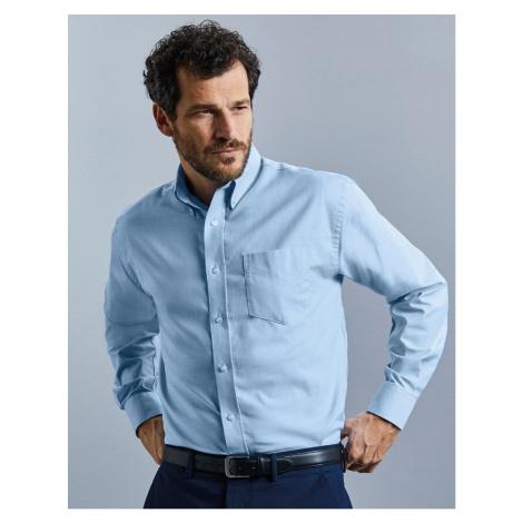 Košile Oxford s dlouhým rukávem Russell