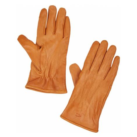 Rukavice Camel Active Handschuh-Leder - Hnědá