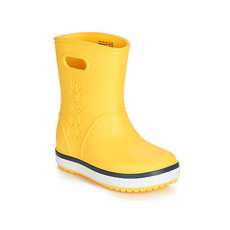 Crocs CROCBAND RAIN BOOT K Žlutá
