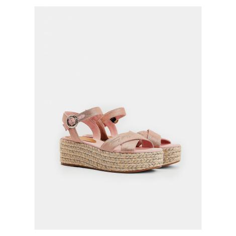 Sandále Tommy Hilfiger Růžová