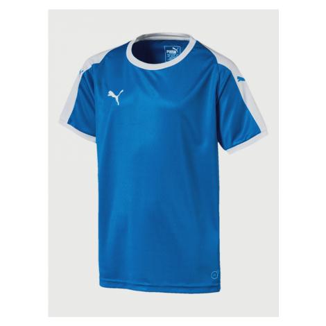 Liga Football Jersey Triko dětské Puma Modrá