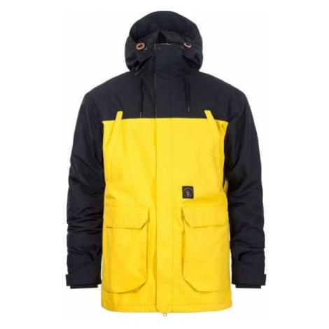 Horsefeathers CORDON ATRIP JACKET žlutá - Pánská lyžařská/snowboardová bunda