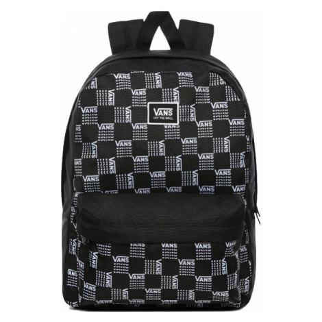 VANS Batoh REALM CLASSIC BACKPACK WORD CHECK VN0A3UI7ZM01