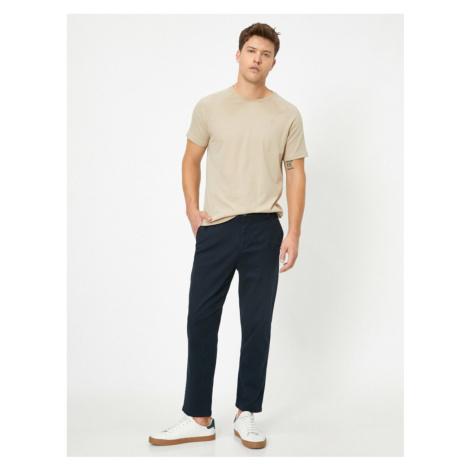 Koton Straight Cut Woven Trousers