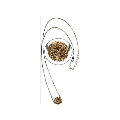 Ls Fashion Náhrdelník LSN005 zlatý ruznobarevne