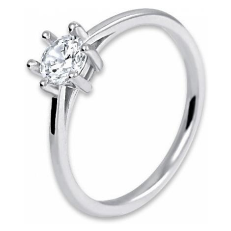 Brilio Silver Stříbrný zásnubní prsten 158 04