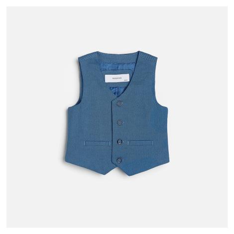 Reserved - Babies` vest - Modrá