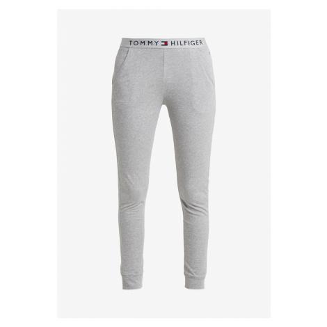 Tommy Hilfiger Tommy Hilfiger dámské šedé pyžamové tepláky CUFFED PANT