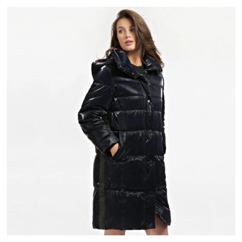 Guess dámská tmavě modrá dlouhá bunda
