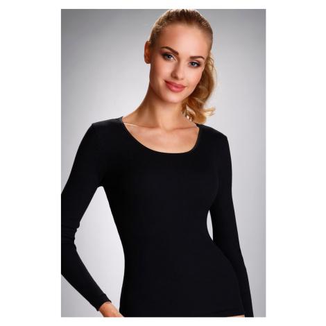 Dámské tričko s dlouhým rukávem Eldar Irene | černá