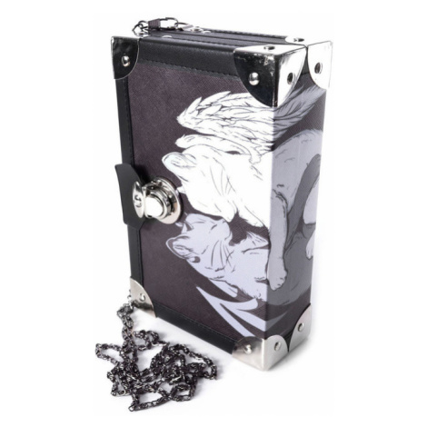 kabelka (taška) Cupcake Cult - SLEEPING CAT - BLACK - POI882