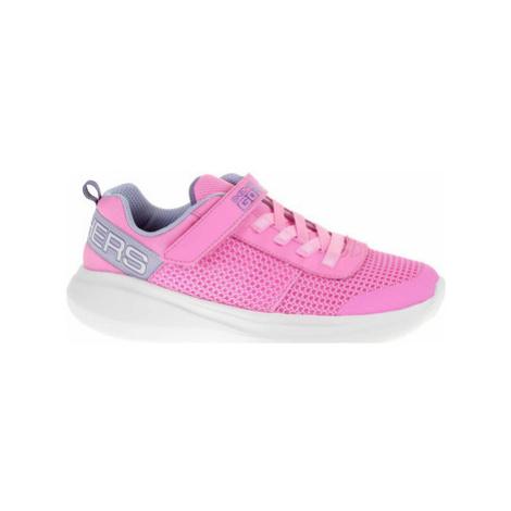 Skechers Go Run Fast - Viva Valor pink-lavender Růžová