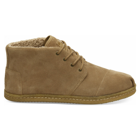 BOTA Toffee Suede Shearling TOMS Venice Collection