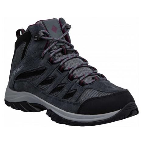 Columbia CRESTWOOD MID šedá - Dámská multisportovní obuv