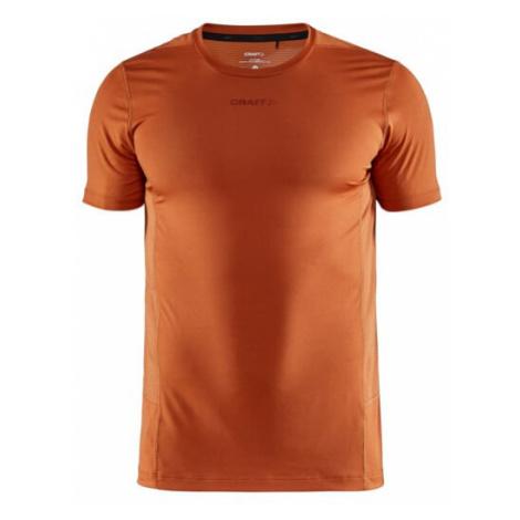 Pánské tričko CRAFT ADV Essence SS oranžová