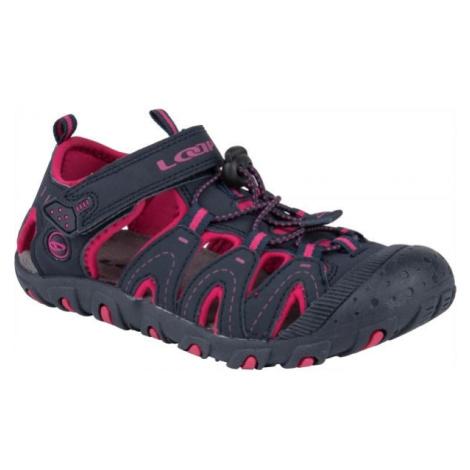 Loap BAM růžová - Dětské sandály