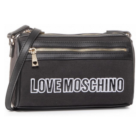LOVE MOSCHINO LOVE MOSCHINO dámská černá crossbody kabelka