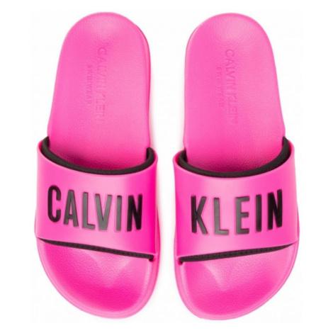 Pantofle Calvin Klein KW0KW01033 RůžováP