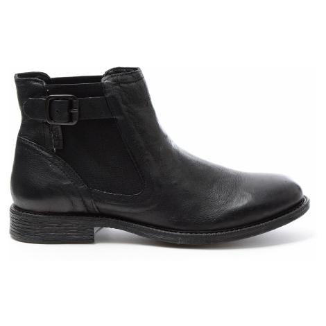 Dámské kožené kotníkové boty Maine W Chlesea černé Levi´s