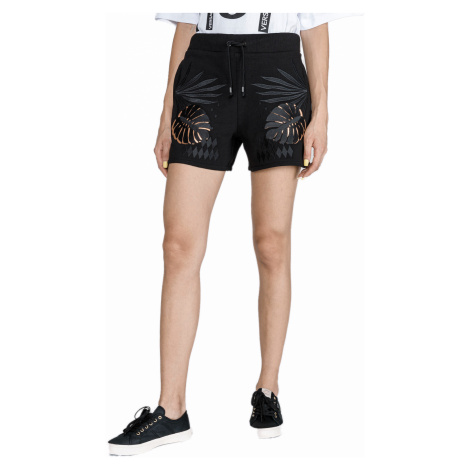 Černé šortky - VERSACE JEANS