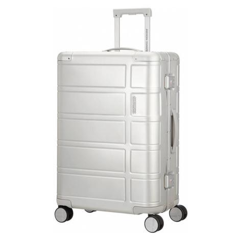 American Tourister Cestovní kufr Alumo Spinner 70G 64 l - stříbrná