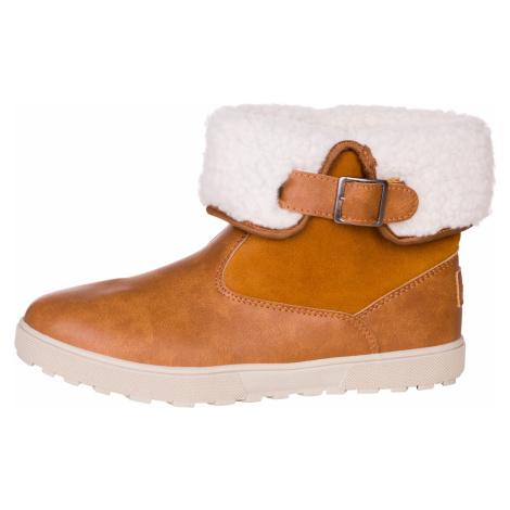 Dámská zimní obuv Alpine Pro NALINA - světle hnědá