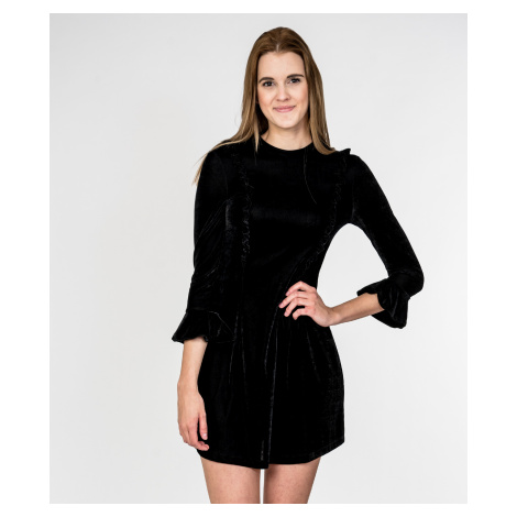 Černé sametové šaty - CYCLE JEANS