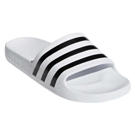 adidas ADILETTE AQUA bílá - Unisexové pantofle