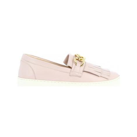 Leonardo Shoes G03 NAPPA NUDE Růžová