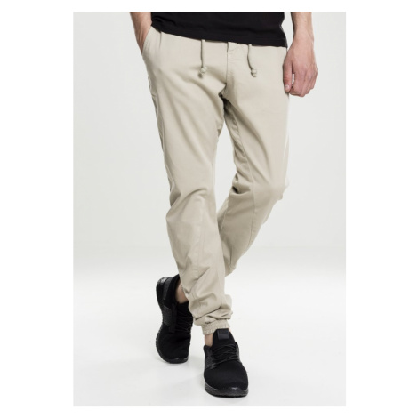 Stretch Jogging Pants - sand Urban Classics