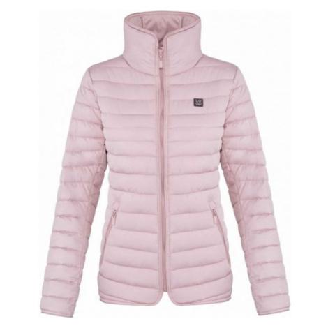 Loap JENNI růžová - Dámská zimní bunda