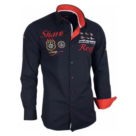 BINDER DE LUXE košile pánská 81301 dlouhý rukáv