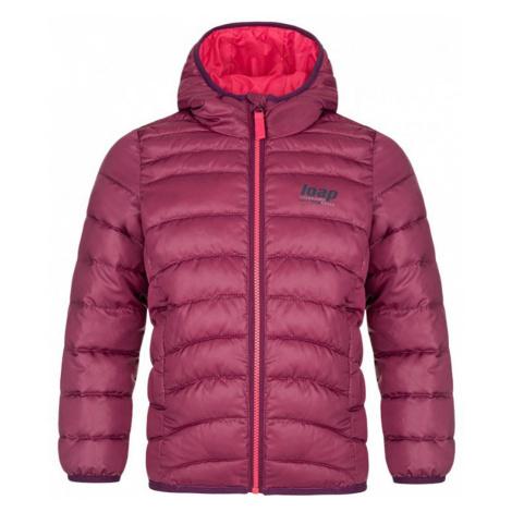 LOAP INOY Dětská zimní bunda CLK2049J43J růžová