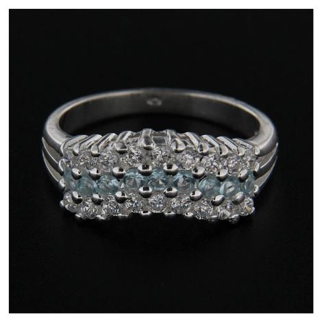 Stříbrný prsten 14306