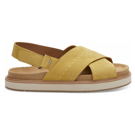 Electric Yellow Nubuc Women Marisa Sand Toms