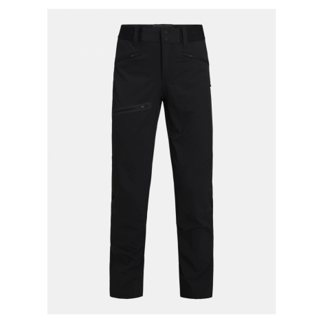 Kalhoty Peak Performance W Light Softshell V Pants - Černá